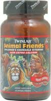 DROPPED: Twinlab - Animal Friends Children's Chewable Vitamin Very Cherry - 50 Wafers