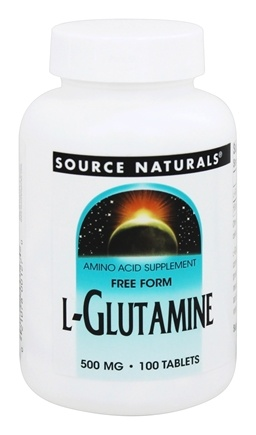 Source Naturals - L-Glutamine 500 mg. - 100 Tablets