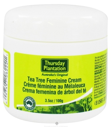 DROPPED: Thursday Plantation - Tea Tree Feminine Cream - 3.5 oz.
