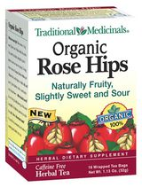 DROPPED: Traditional Medicinals - Organic Rose Hips Tea - 16 Tea Bags