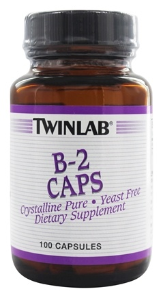Twinlab - B-2 Caps Crystalline Pure 100 mg. - 100 Capsules