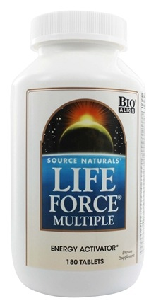 Source Naturals - Life Force Multiple - 180 Tablets