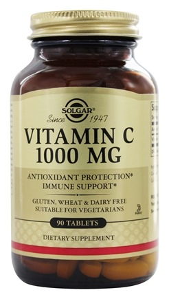 Solgar - Vitamin C 1000 mg. - 90 Tablets