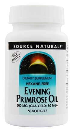 Source Naturals - Evening Primrose Oil 500 mg. - 60 Softgels