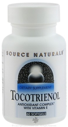 DROPPED: Source Naturals - Tocotrienol Antioxidant Complex With Vitamin E - 60 Softgels CLEARANCE PRICED