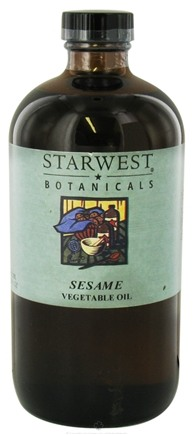 DROPPED: Starwest Botanicals - Sesame Vegetable Oil - 16 oz.