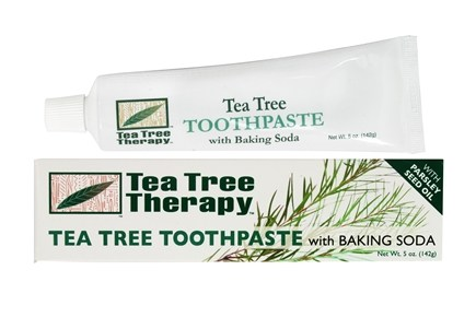 Tea Tree Therapy - Tea Tree Toothpaste with Baking Soda - 5 oz.