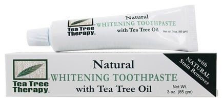Tea Tree Therapy - Whitening Toothpaste with Tea Tree Oil - 3 oz.