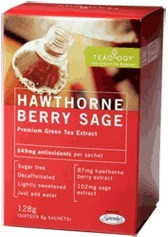 DROPPED: Teaology - Hawthorne Berry Sage - 12 Tea Bags