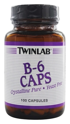 Twinlab - B-6 Caps 100 mg. - 100 Capsules LUCKY PRICE