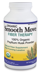 DROPPED: Traditional Medicinals - Smooth Move Fiber Therapy Organic Psyllium Husk Powder
