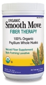 DROPPED: Traditional Medicinals - Smooth Move Fiber Therapy Organic Psyllium Whole Husk - 12 oz.