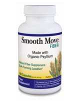 DROPPED: Traditional Medicinals - Smooth Move Organic Psyllium Fiber Capsules - 180 Capsules