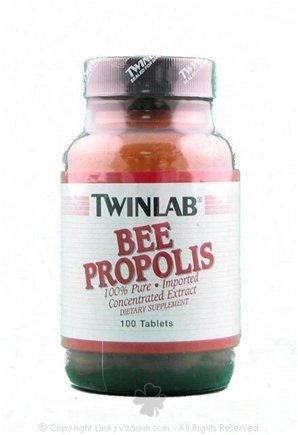DROPPED: Twinlab - Bee Propolis - 100 Tablets