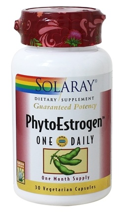Solaray - Guaranteed Potency Phytoestrogen One Daily - 30 Capsules