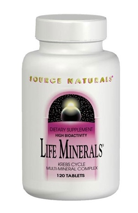 DROPPED: Source Naturals - Life Minerals - 60 Tablets