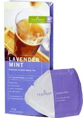 DROPPED: Teaology - Lavender Mint Wallet Box - 6 Tea Bags