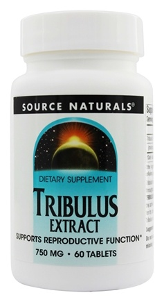 Source Naturals - Tribulus Extract 750 mg. - 60 Tablets