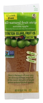 Stretch Island Fruit - All-Natural Fruit Strip Autumn Apple - 0.5 oz. Formerly Original Fruit Leather