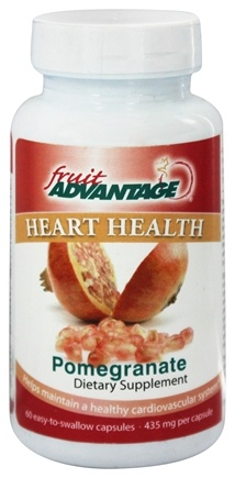 Fruit Advantage - Heart Health Pomegranate - 60 Capsules formerly Traverse Bay