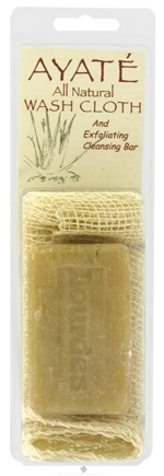 DROPPED: Thai Deodorant Stone - Ayate All-Natural Wash Cloth with Cleansing Bar
