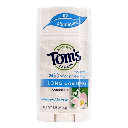 Tom's of Maine - Natural Deodorant Stick Long-Lasting Honeysuckle Rose - 2.25 oz. /LUCKY PRICE