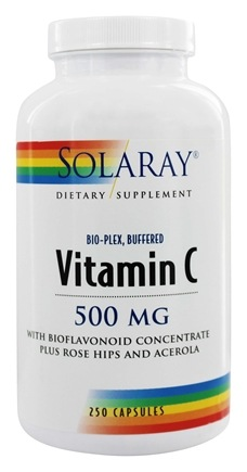 Solaray - Vitamin C Bio-Plex Buffered 500 mg. - 250 Capsules