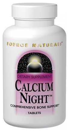 DROPPED: Source Naturals - Calcium Night - 240 Tablets CLEARANCE PRICED