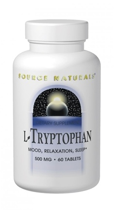 DROPPED: Source Naturals - L-Tryptophan Powder - 50 Grams