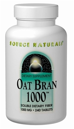 DROPPED: Source Naturals - Oat Bran 1000 - 240 Tablets
