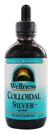 Source Naturals - Wellness Colloidal Silver 30 Ppm - 4 oz.