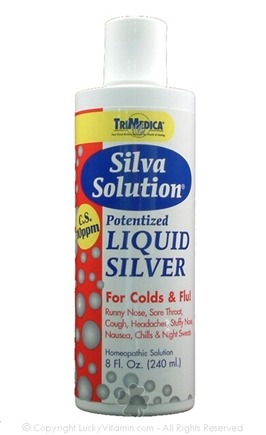 DROPPED: Trimedica - Silva Solution Potentized Liquid Silver - 8 oz.