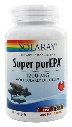 Solaray - Super purEPA 1200 mg. - 90 Softgels