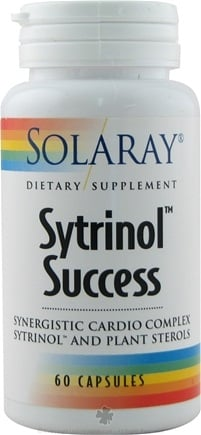 DROPPED: Solaray - Sytrinol Success - 60 Capsules
