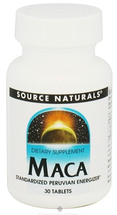DROPPED: Source Naturals - Maca 250 mg. - 30 Tablets CLEARANCE PRICED
