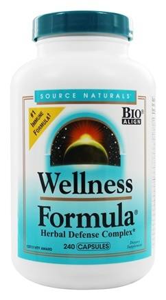 Source Naturals - Wellness Formula - 240 Capsules
