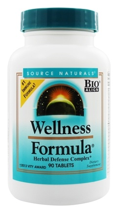 Source Naturals - Wellness Formula - 90 Tablets