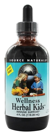 Source Naturals - Wellness Herbal Kids Liquid - 4 oz.