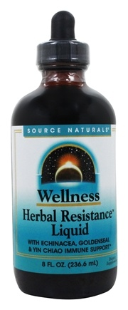 Source Naturals - Wellness Herbal Resistance Liquid - 8 oz.