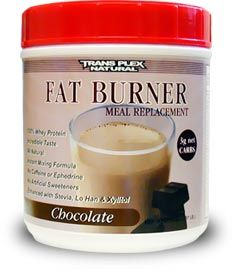 DROPPED: Trans Plex Natural - Natural Edge Fat Burner Chocolate