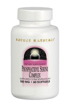 DROPPED: Source Naturals - Phosphatidyl Serine Complex - 30 Softgels