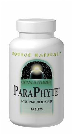 DROPPED: Source Naturals - ParaPhyte Intestinal Detoxifier - 120 Tablets