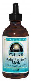 DROPPED: Source Naturals - Wellness Herbal Resistance Liquid - 2 oz.