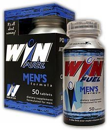DROPPED: Trim Spa - Win Fuel Men's Formula - 50 Tablets