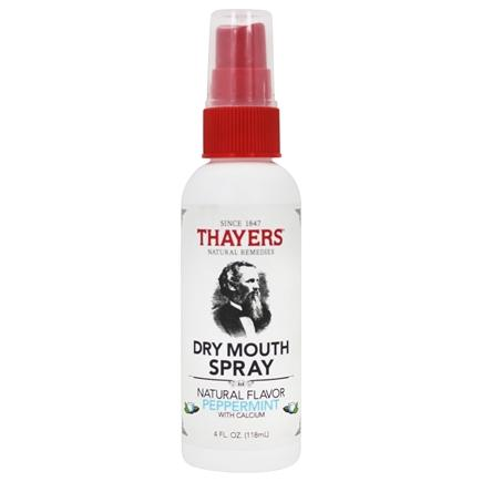 Thayers - Sugar-Free Dry Mouth Spray Peppermint - 4 oz.