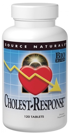 DROPPED: Source Naturals - Cholest-Response - 60 Tablets