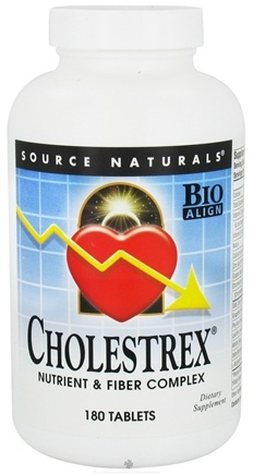 DROPPED: Source Naturals - Cholestrex - 180 Tablets