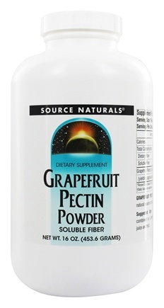 DROPPED: Source Naturals - Grapefruit Pectin Powder - 16 oz.