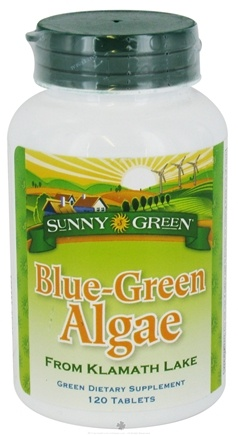 DROPPED: Sunny Green - Blue-Green Algae - 120 Tablets CLEARANCE PRICED
