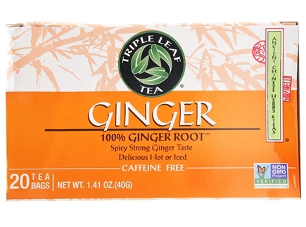 Triple Leaf Tea - Ginger Tea - 20 Tea Bags